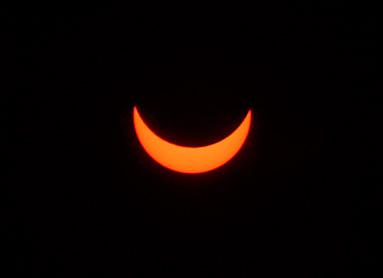 Solar Eclipse by Cristiano Cesolari